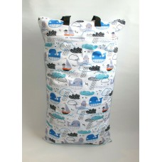 Extra Large Wet Bag - Ocean