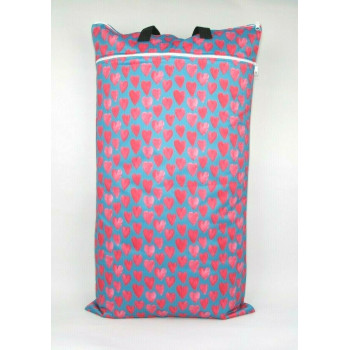 Extra Large Wet Bag - Love Hearts
