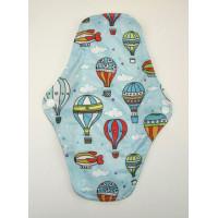 Bamboo Cloth Regular Flow Menstrual Pad - Balloons