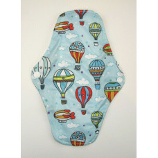 Bamboo Cloth Regular Flow Menstrual Pad - Balloons