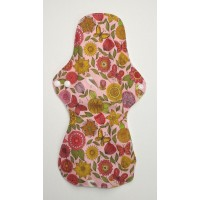 Bamboo Cloth Heavy Flow Sanitary Pad - Vintage Flowers