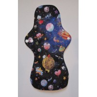Bamboo Cloth Heavy Flow Sanitary Pad - Space