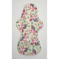 Bamboo Cloth Heavy Flow Sanitary Pad - Unicorns
