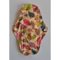 Bamboo Cloth Regular Flow Menstrual Pad - Cute Birdies Pink