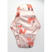 Bamboo Cloth Regular Flow Menstrual Pad - Foxes