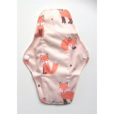 Bamboo Cloth Regular Flow Menstrual Pad - Foxes