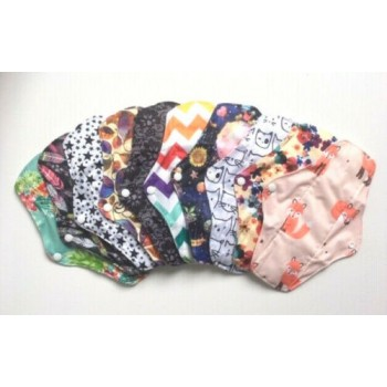 Set of 5 Bamboo Regular Flow Pads Regular Flow Cloth Pad Sets - Cloth Mama