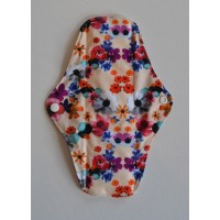 Bamboo Cloth Regular Flow Menstrual Pad - Posies