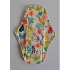 Bamboo Cloth Regular Flow Menstrual Pad - Pretty Butterflies