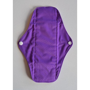 Bamboo Cloth Regular Flow Menstrual Pad - Purple