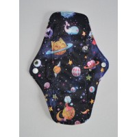 Bamboo Cloth Regular Flow Menstrual Pad - Space