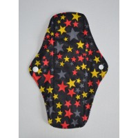 Bamboo Cloth Regular Flow Menstrual Pad - Super Stars