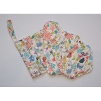 Bamboo 5 Piece Menstrual Pad Set - Pretty Butterflies