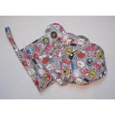 Bamboo 5 Piece Menstrual Pad Set - Kawaii
