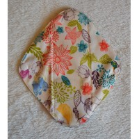 Charcoal Panty Liner / Light Flow Pad - Pretty Butterflies