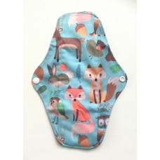Charcoal Regular Flow Menstrual Pad - Forest