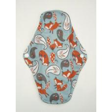 Charcoal Regular Flow Menstrual Pad - Foxes