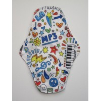 Charcoal Regular Flow Menstrual Pad - Kawaii