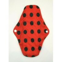 Charcoal Regular Flow Menstrual Pad - Ladybird