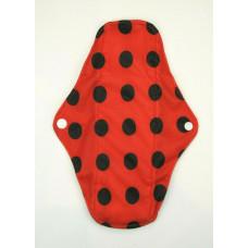 Charcoal Regular Flow Menstrual Pad - Ladybird