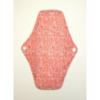 Charcoal Regular Flow Menstrual Pad - Pink Flecks