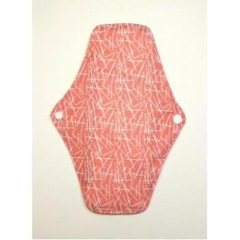 Charcoal Regular Flow Menstrual Pad - Pink Flecks