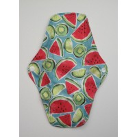 Charcoal Regular Flow Menstrual Pad - Watermelons