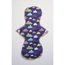 Cloth Mama Bamboo Heavy Flow Pad - Clouds