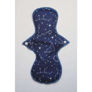 Cloth Mama Bamboo Heavy Flow Pad - Constellations