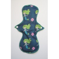 Cloth Mama Bamboo Heavy Flow Pad - Mermaids