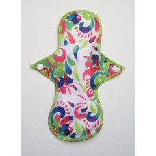 Cloth Mama Bamboo Light Flow Pad - Carnival