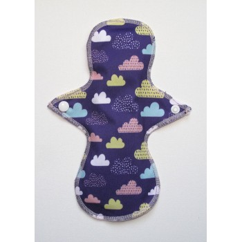Cloth Mama Bamboo Light Flow Pad - Clouds