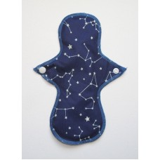 Cloth Mama Bamboo Light Flow Pad - Constellations