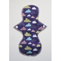 Cloth Mama Bamboo Regular Flow Pad - Clouds