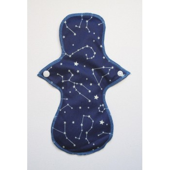 Cloth Mama Bamboo Regular Flow Pad - Constellations Cloth Mama Regular Flow Pads - Cloth Mama
