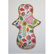 Cloth Mama Bamboo Regular Flow Pad - Spring Flowers