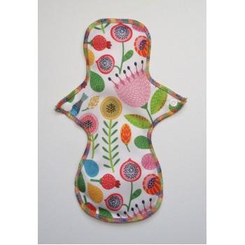 Cloth Mama Bamboo Regular Flow Pad - Spring Flowers Cloth Mama Regular Flow Pads - Cloth Mama