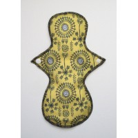 Cloth Mama Bamboo Regular Flow Pad - Sun Dance