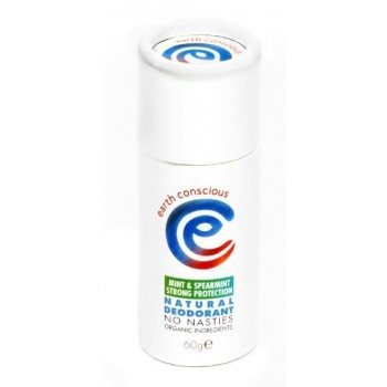 Earth Conscious Deodorant Stick - Mint & Spearmint