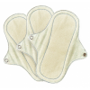 Set of 3 Eco Femme Organic Panty Liners (With PUL)