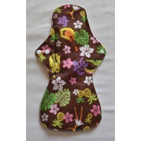 Bamboo Cloth Heavy Flow Sanitary Pad - Hula Girl