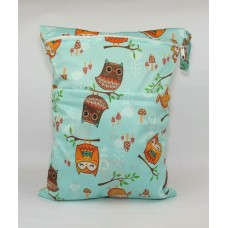 Large Wet Bag - Owls