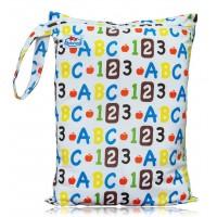 Large Babyland Wet Bag - ABC 123