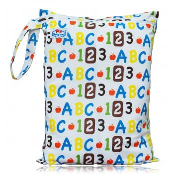 Large Babyland Wet Bag - ABC 123
