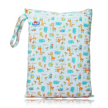 Large Babyland Wet Bag - Baby Animals