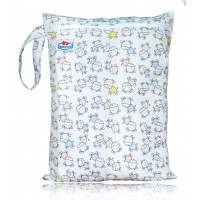 Large Babyland Wet Bag - Baby Moo Cows