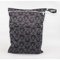 Large Wet Bag - Black Lace
