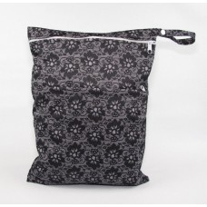 Large Wet Bag - Black Lace