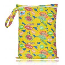 """Large Babyland Wet Bag - Dino """"Roar""""!"""