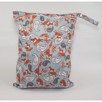 Large Wet Bag - Foxes